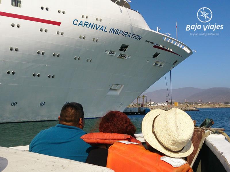 Paseo en barco en la bahía de Ensenada