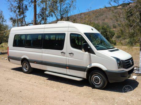 Servicio de Transporte en Van Crafter o Sprinter. Traslados en Tijuana y Ensenada, Baja California.