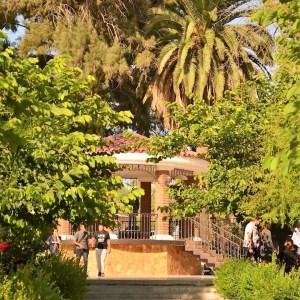 Kiosko en la Plaza del Centro Historico de Tecate