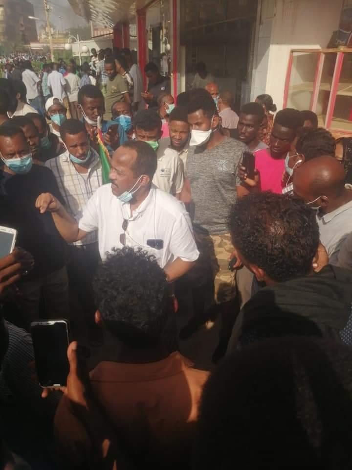 وزير الصحة أكرم علي التوم في موكب ٣٠ يونيو, اخبار السودان الان من كل المصادر