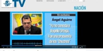 No volverá, insiste Aguirre en video de El Universal 1