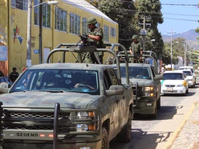 Enfrentamiento entre criminales en Chilapa, detonan granadas