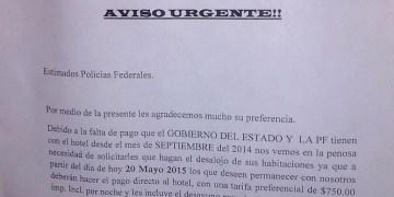 Desaloja hotel de Acapulco a policías federales, por adeudo de pago 9