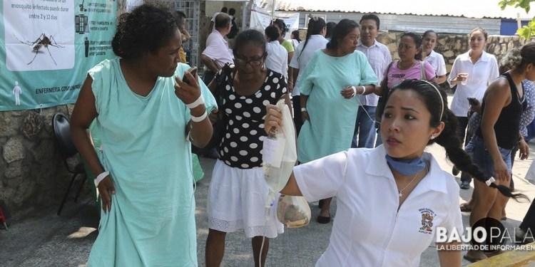 Fotoreportaje. Incendio en el hospital regional del IMSS en Acapulco. 1