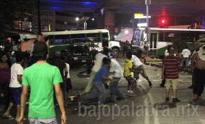 Claudio Vargas - Desalojo de comerciantes priistas en Acapulco 1