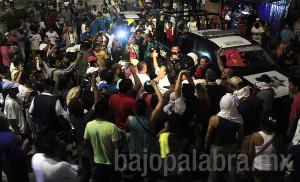 Claudio Vargas - Desalojo de comerciantes priistas en Acapulco 3