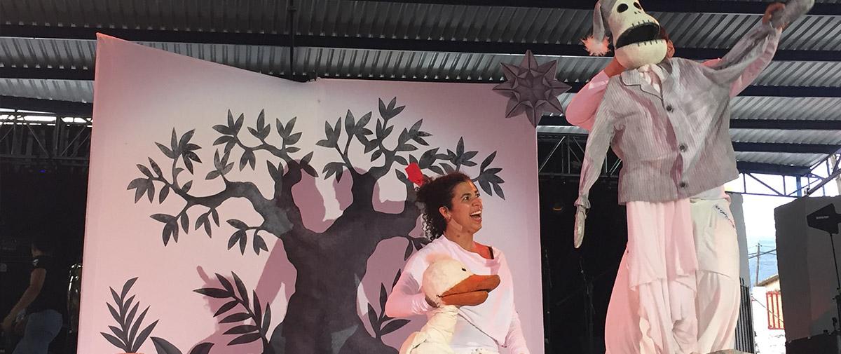 Las Caravanas llevaron teatro infantil de gran calidad a Buenavista de Cuéllar