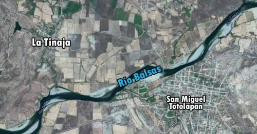 La Tinaja - Mapa - Guerrero
