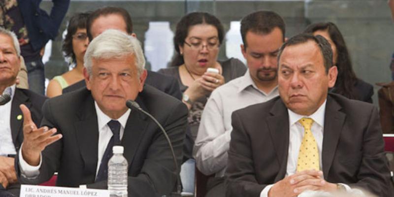 Acusa Zambrano a AMLO de intereses electorales en Oaxaca
