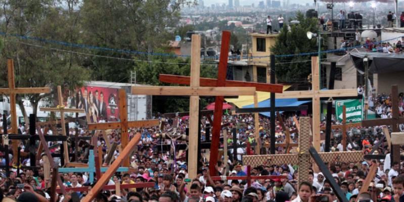 Iztapalapa lista para la representación de Semana Santa