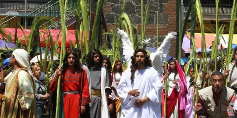 Listo operativo por representación de Pasión de Cristo en Iztapalapa