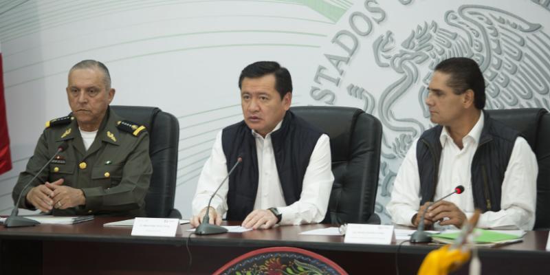 Confirma Osorio Chong policía interestatal de Edomex, Guerrero y Michoacán