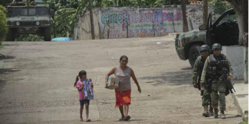 Por violencia, suspenden clausuras escolares en Guerrero