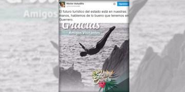 Critican tuiteros llamado de Astudillo de hablar bien de Guerrero 3