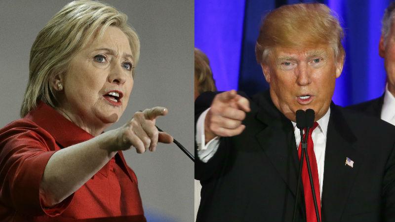 Debate Hillary-Trump, el más difundido en la historia de EU