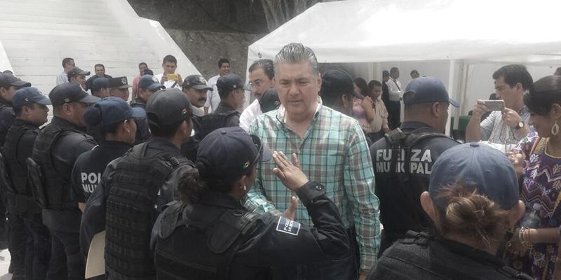 Adeuda gobierno de Leyva Mena viáticos a policías de Chilpancingo