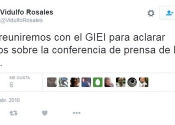 Vidulfo Rosales confirma reunión entre padres de los 43 y el GIEI 3