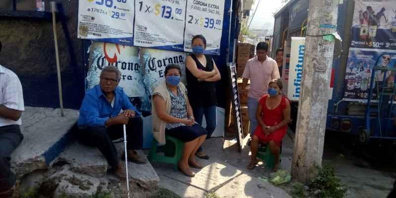 Paraliza drenaje roto a colonia de Chilpancingo, denuncian