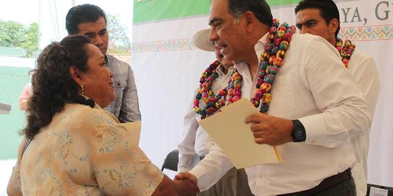 Anuncia gobierno de Guerrero 57 mdp para infraestructura en Pilcaya