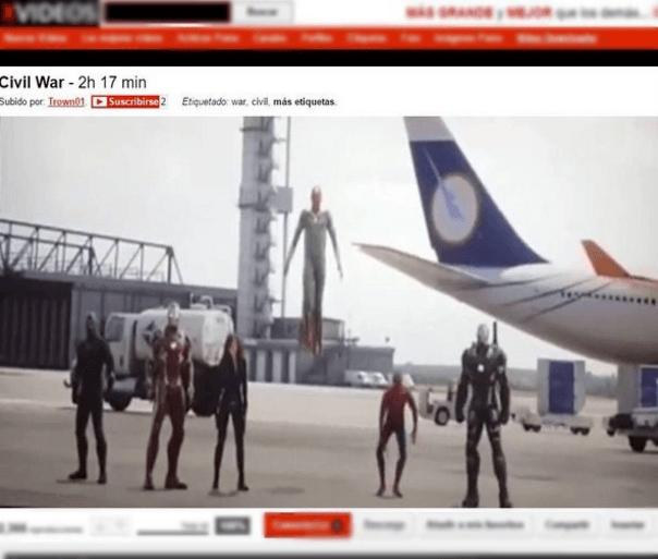 civil war x video