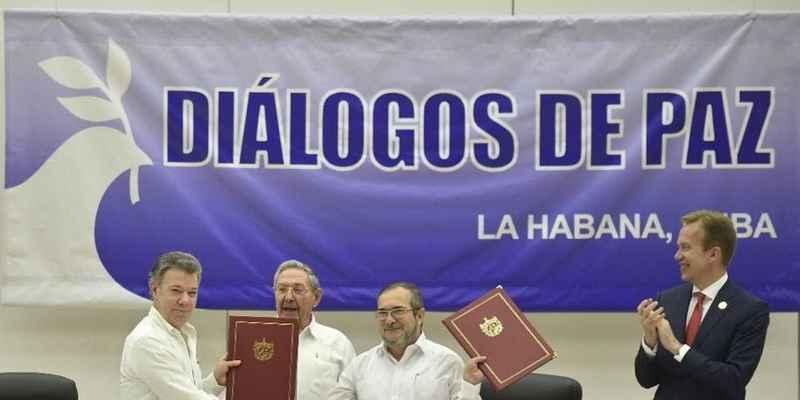 Colombia y FARC firman cese al fuego