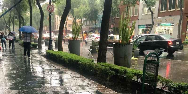 Se esperan lluvias en todo el país