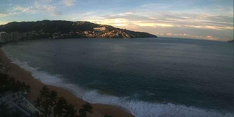 Alerta por Mar de Fondo en Acapulco