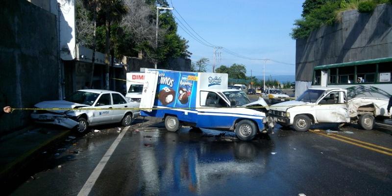 Un muerto y tres heridos por accidentes automovilísticos en Acapulco