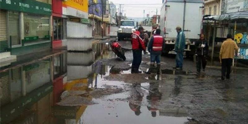 Afectan lluvias a 158 casas en Ecatepec
