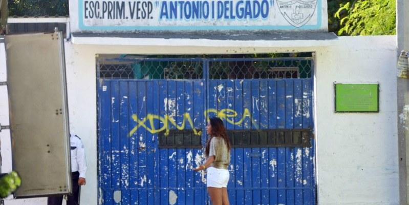 Hasta hoy inician clases en escuela de Acapulco
