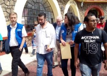 Se reúne Alto Comisionado de ONU con padres de los 43 7