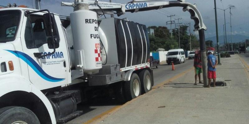 Suministro de agua garantizado en Acapulco: Capama
