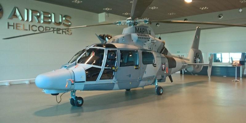 Recibe Marina de México en Francia nuevo helicóptero Panther