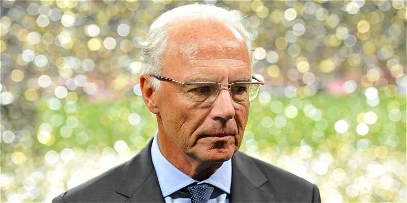 Investigan a Franz Beckenbauer por lavado de dinero