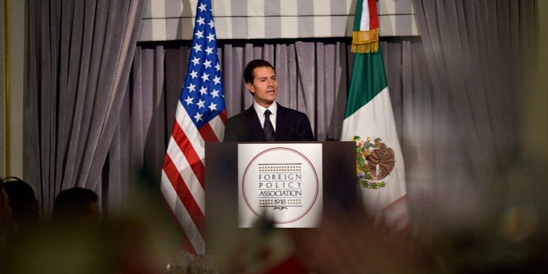 Estados Unidos tiene información distorsionada de México: Peña Nieto