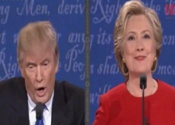 Hillary tunde a Trump en el debate; lo acusa de mentiroso y racista 2
