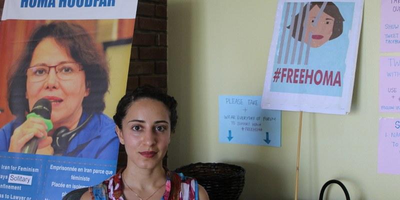 """Homa Hoodfar, en prisión por """"difundir"""" propaganda contra el Estado iraní"""