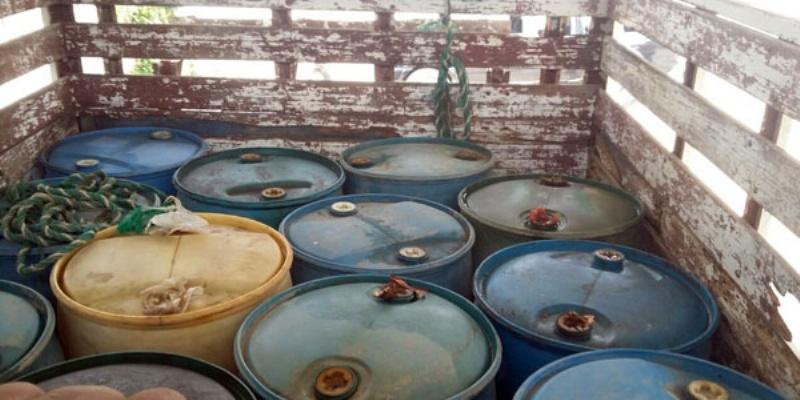 Decomisan en Tamaulipas seis mil litros de combustible
