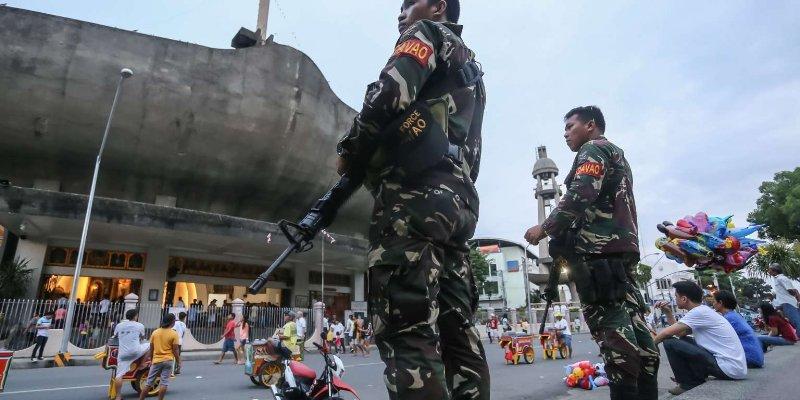 """Declaran """"violencia anárquica"""" en Filipinas"""
