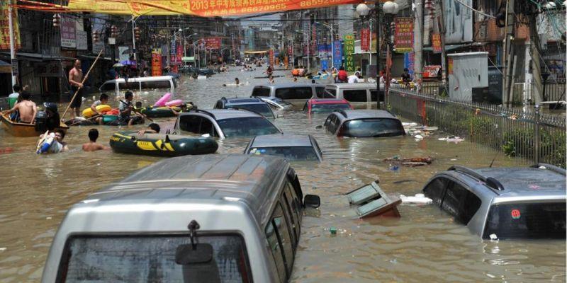 Inundaciones afectan a 140 mil en Corea del Norte