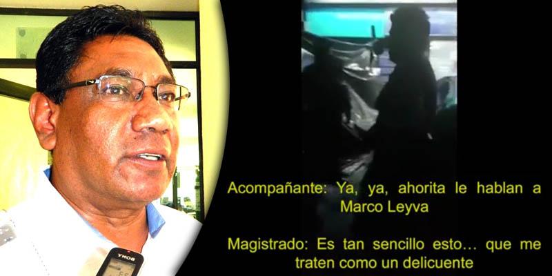 [VIDEO] Arrestan a magistrado ebrio de Guerrero por orinar en la calle