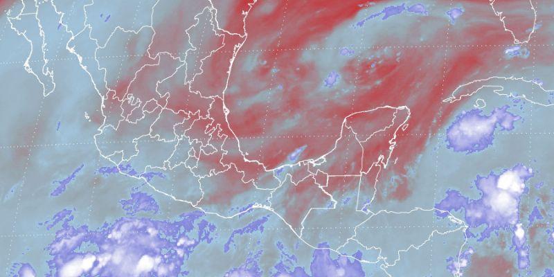 Onda tropical 26 causará lluvias en gran parte de México