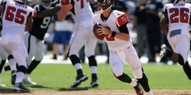 Por segunda semana al hilo, Ryan lidera índice de pasadores de la NFL
