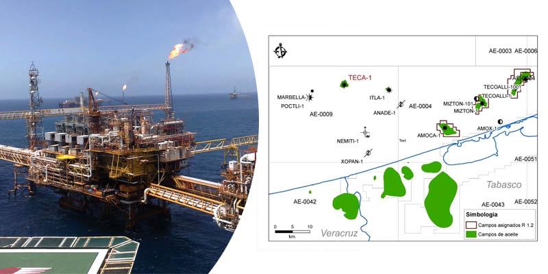 Descubre Pemex seis nuevos yacimientos en Golfo de México