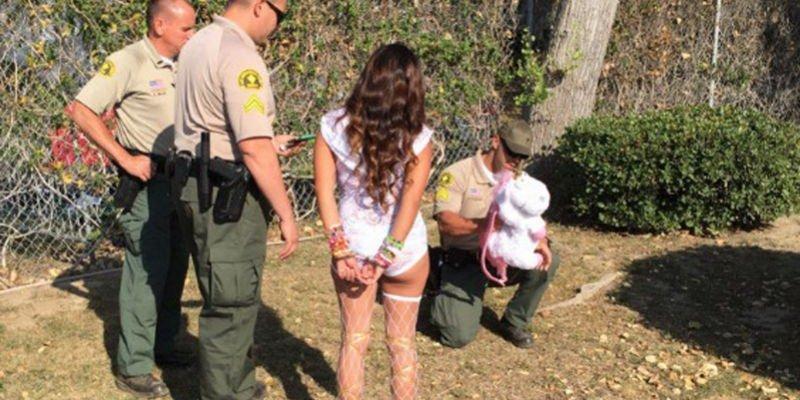Arrestan a más de 250 en festival de California