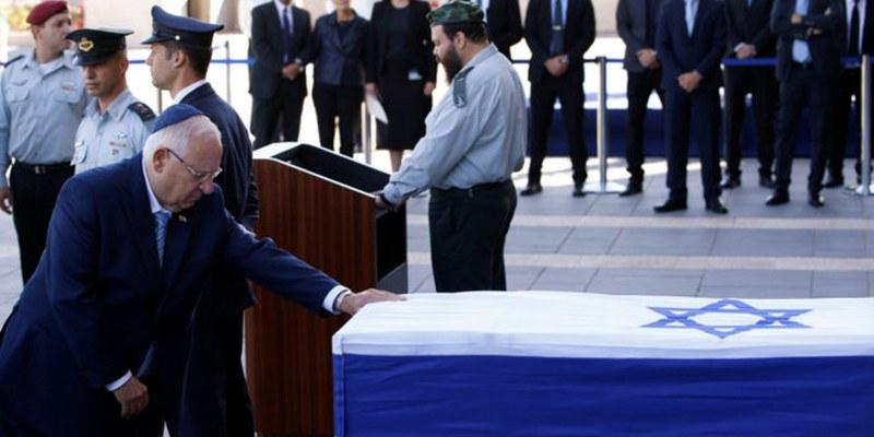 Detienen a sospechosos por seguridad previo a funeral de Shimon Peres