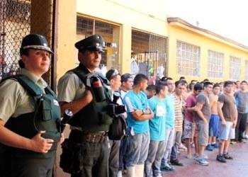 Sistema Penitenciario capitalino participa en simulacro de sismo 1