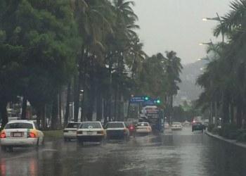 Lluvias en Acapulco