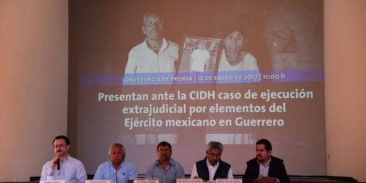 ONG's denuncia ejecución de indígena por parte del Ejército mexicano 1