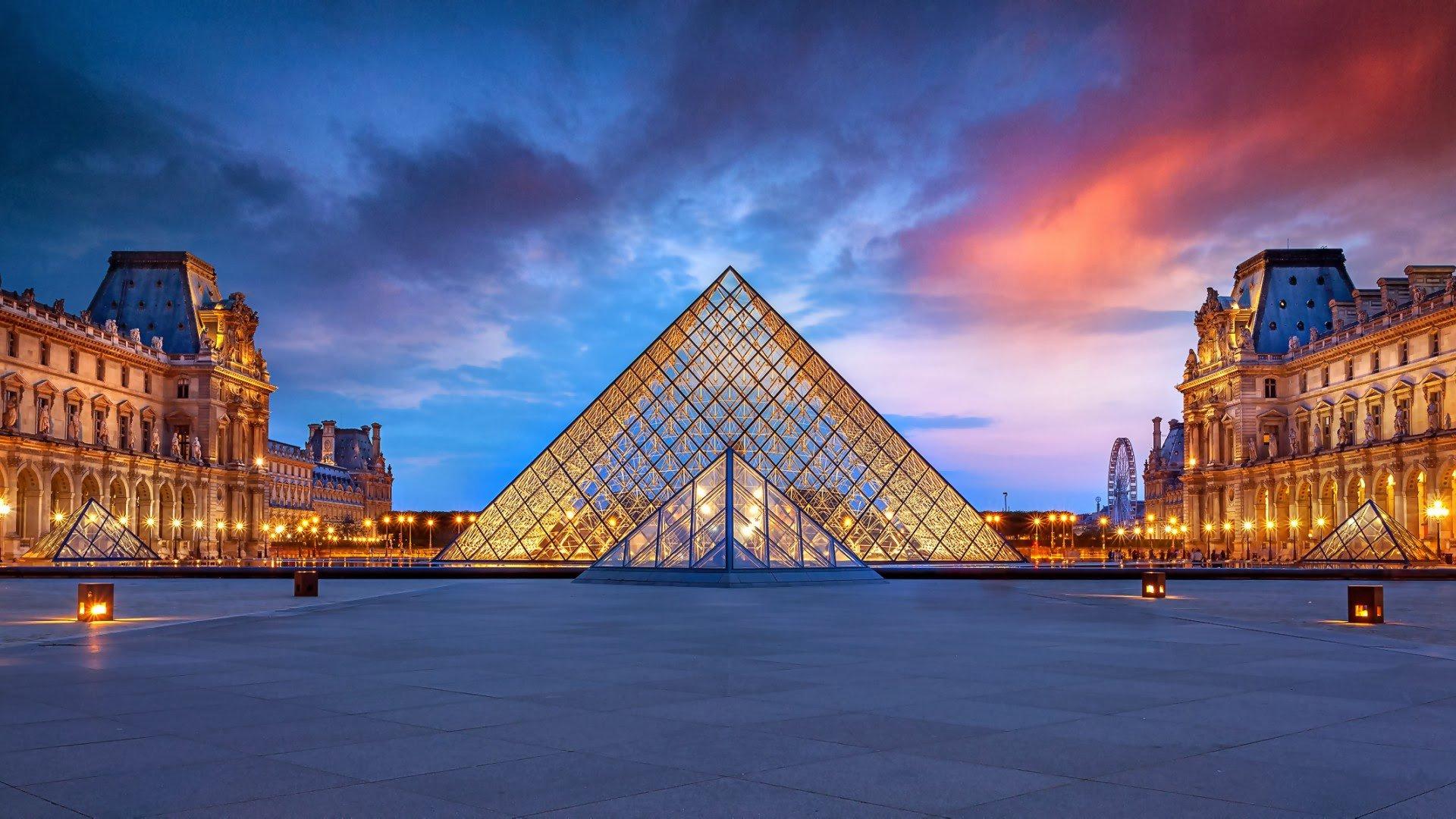 Museo del Louvre noche